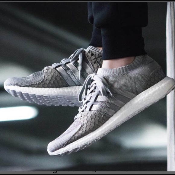 huge selection of d82f3 f9742 Adidas x Pusha T EQT Support Ultra Boost Stone Gr